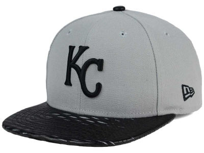 Kansas City Royals New Era MLB Leather RIP 9FIFTY Snapback Cap