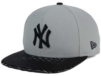 New York Yankees New Era MLB Leather RIP 9FIFTY Snapback Cap
