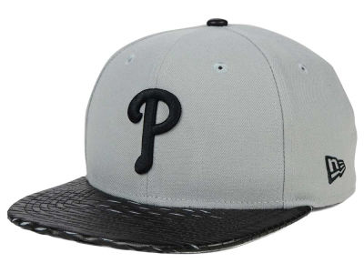 Philadelphia Phillies New Era MLB Leather RIP 9FIFTY Snapback Cap
