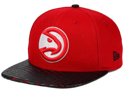 Atlanta Hawks New Era NBA HWC Leather Rip 9FIFTY Snapback Cap
