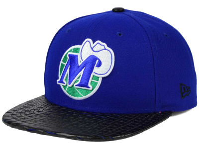 Dallas Mavericks New Era NBA HWC Leather Rip 9FIFTY Snapback Cap