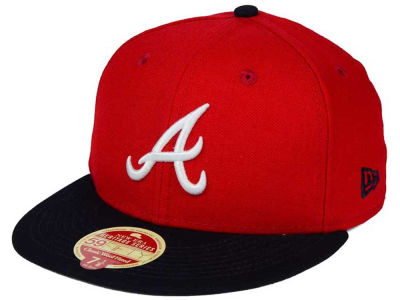 Atlanta Braves New Era MLB Wool Standard 59FIFTY Cap