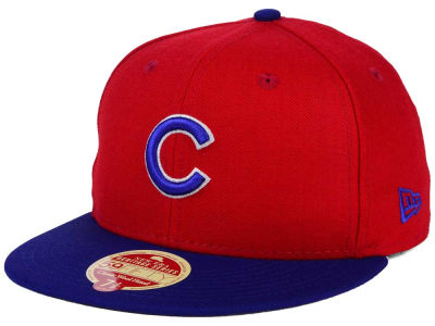 Chicago Cubs New Era MLB Wool Standard 59FIFTY Cap