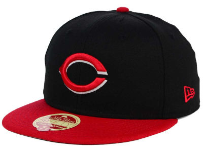 Cincinnati Reds New Era MLB Wool Standard 59FIFTY Cap
