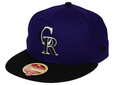 Colorado Rockies New Era MLB Wool Standard 59FIFTY Cap