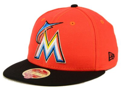 Miami Marlins New Era MLB Wool Standard 59FIFTY Cap