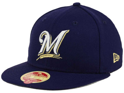Milwaukee Brewers New Era MLB Wool Standard 59FIFTY Cap