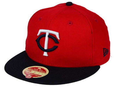 Minnesota Twins New Era MLB Wool Standard 59FIFTY Cap