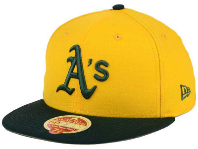 Oakland Athletics New Era MLB Wool Standard 59FIFTY Cap