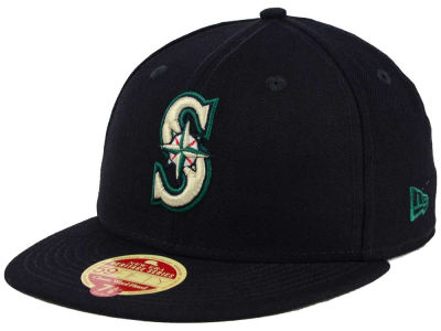 Seattle Mariners New Era MLB Wool Standard 59FIFTY Cap
