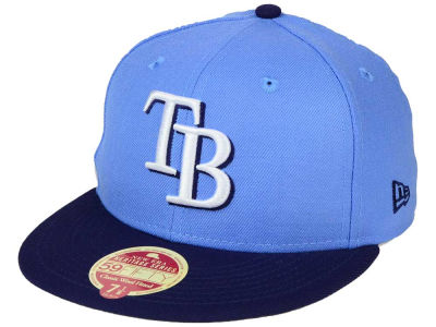 Tampa Bay Rays New Era MLB Wool Standard 59FIFTY Cap