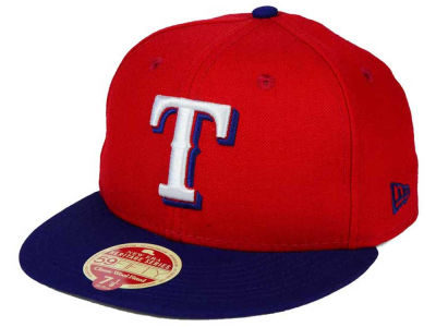 Texas Rangers New Era MLB Wool Standard 59FIFTY Cap