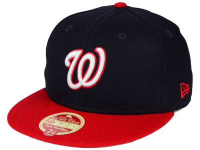 Washington Nationals New Era MLB Wool Standard 59FIFTY Cap