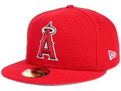 Los Angeles Angels New Era MLB Flag Stated 59FIFTY Cap