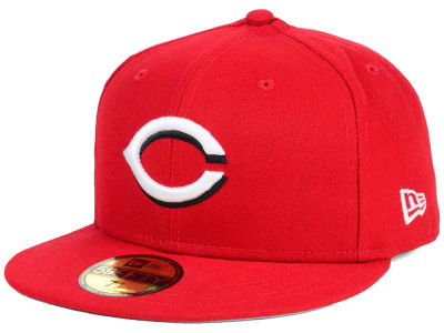 Cincinnati Reds New Era MLB Flag Stated 59FIFTY Cap