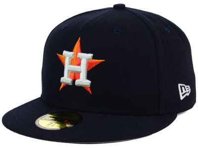 Houston Astros New Era MLB Flag Stated 59FIFTY Cap