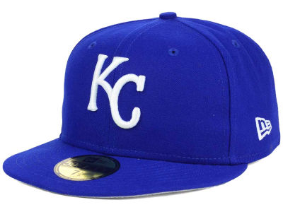 Kansas City Royals New Era MLB Flag Stated 59FIFTY Cap