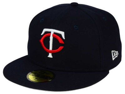 Minnesota Twins New Era MLB Flag Stated 59FIFTY Cap