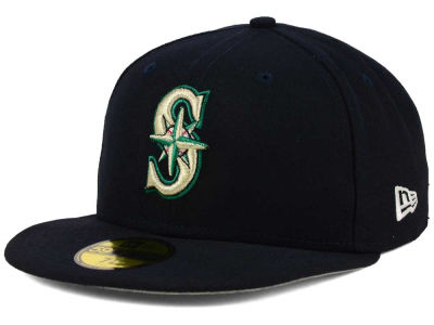 Seattle Mariners New Era MLB Flag Stated 59FIFTY Cap
