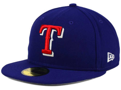 Texas Rangers New Era MLB Flag Stated 59FIFTY Cap