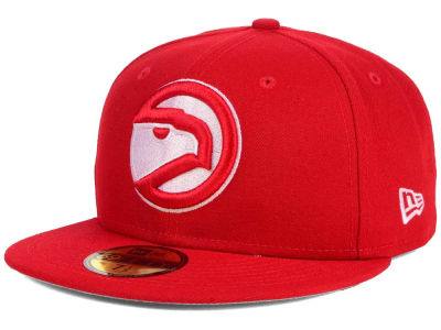 Atlanta Hawks New Era NBA HWC Flag Stated 59FIFTY Cap