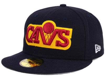 Cleveland Cavaliers New Era NBA HWC Flag Stated 59FIFTY Cap