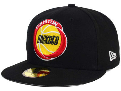Houston Rockets New Era NBA HWC Flag Stated 59FIFTY Cap