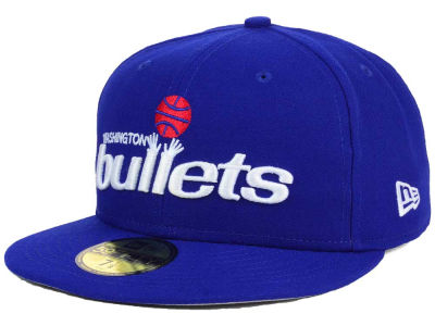 Washington Bullets New Era NBA HWC Flag Stated 59FIFTY Cap