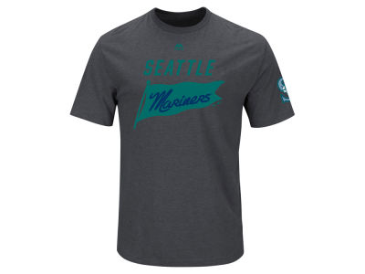 Seattle Mariners Majestic MLB Men's Pennant Race T-Shirt