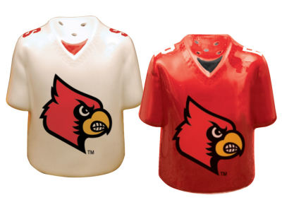 Louisville Cardinals Memory Company Gameday Salt And Pepper Shakers