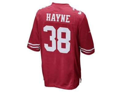 San Francisco 49ers Jarryd Hayne Nike NFL Men's Game Jersey