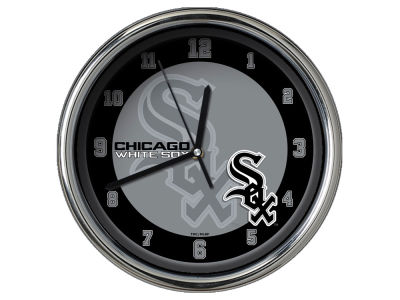 Chicago White Sox Chrome Clock II