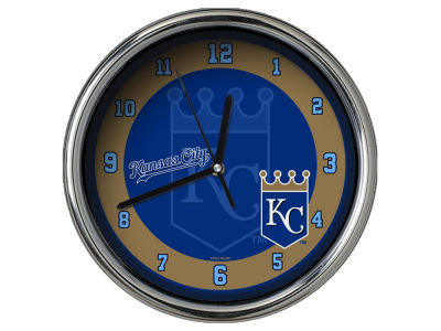 Kansas City Royals Chrome Clock II