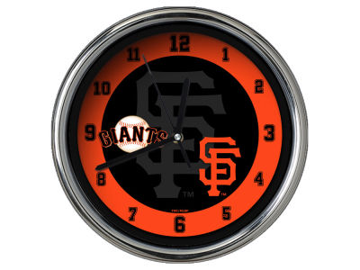 San Francisco Giants Chrome Clock II
