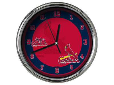 St. Louis Cardinals Chrome Clock II