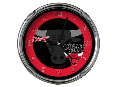 Chicago Bulls Chrome Clock II