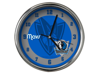Dallas Mavericks Chrome Clock II