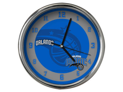 Orlando Magic Chrome Clock II