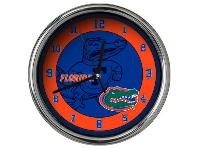 Florida Gators Chrome Clock II