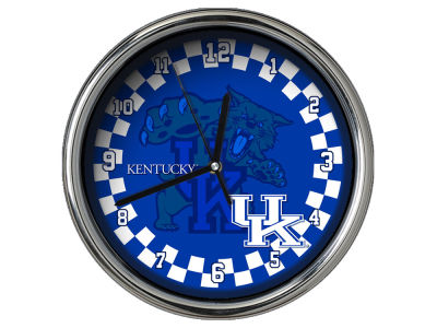 Kentucky Wildcats Chrome Clock II