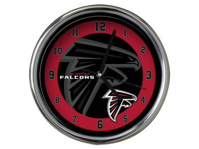 Atlanta Falcons Chrome Clock II