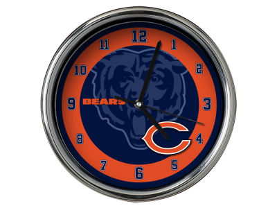 Chicago Bears Chrome Clock II