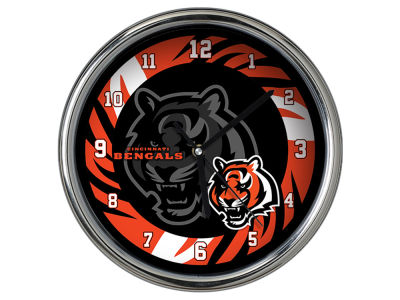 Cincinnati Bengals Chrome Clock II