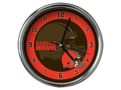 Cleveland Browns Chrome Clock II