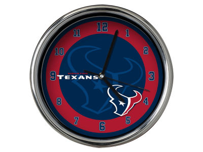 Houston Texans Chrome Clock II