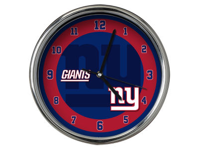New York Giants Chrome Clock II