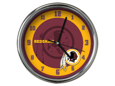 Washington Redskins Chrome Clock II