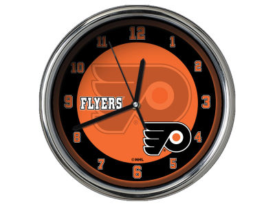 Philadelphia Flyers Chrome Clock II