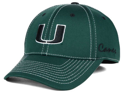 Miami Hurricanes Top of the World NCAA Jock III Cap