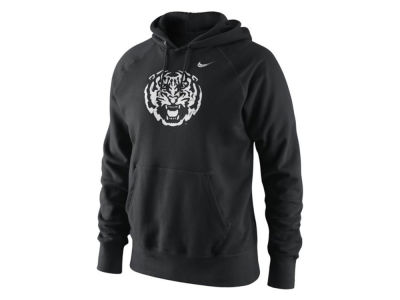 LSU Tigers Nike NCAA Men's Project Fresh 2.0 Painted Logo Cotton Hoodie
